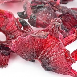 Gently dried sweet hibiscus