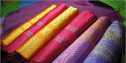 silk of laos